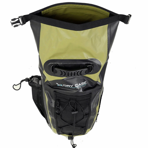 1d5ae2e11b17 Green BASIN Waterproof Backpack 20 Liter - Totally Waterproof Containers