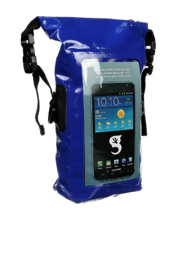 eb994d0da6 Blue Waterproof Phone Tote Dry Bag - Totally Waterproof Containers