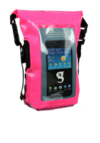 820f296330 Pink Waterproof Phone Tote Dry Bag - Totally Waterproof Containers